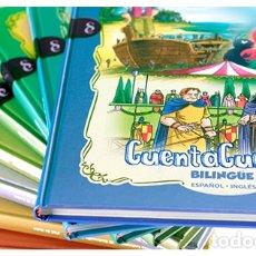 Libros: 11 LIBROS PRECIOSOS CUENTA CUENTOS BILINGUE ESPAÑOL - INGLES EDICIONES RUEDA. Lote 158121802