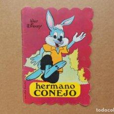 Libros: CUENTO TROQUELADO HERMANO CONEJO WALT DISNEY BRUGUERA 1973. Lote 158147766
