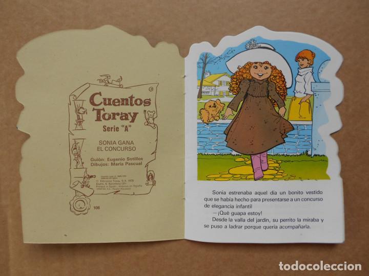 Libros: CUENTO TROQUELADO SONIA GANA EL CONCURSO TORAY MARIA PASCUAL 1978 - Foto 2 - 158151978