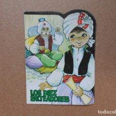 Libros: CUENTO TROQUELADO LOS DIEZ SALTEADORES - PRODUCCIONES EDITORIALES - 1979. Lote 158328478