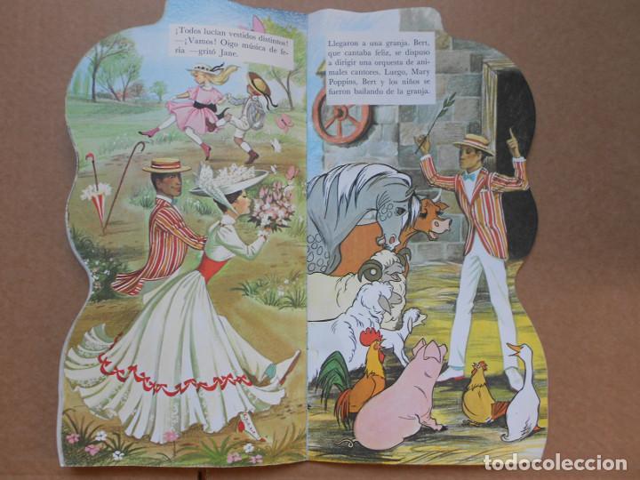 Libros: CUENTO TROQUELADO MARY POPPINS - EDITORIAL MOLINO - 1966 - WALT DISNEY - Foto 3 - 158329002