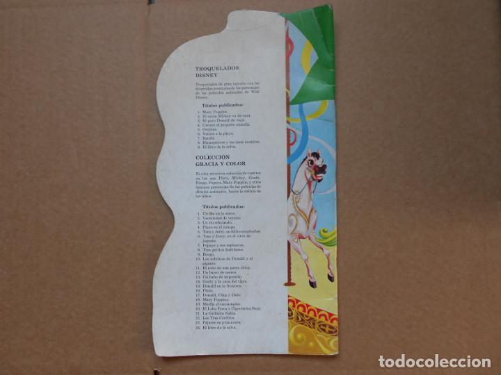 Libros: CUENTO TROQUELADO MARY POPPINS - EDITORIAL MOLINO - 1966 - WALT DISNEY - Foto 4 - 158329002