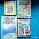 Libros: CUENTOS INFANTILES LOTE DE 4 LIBROS CUENTOS ESCOGIDOS UN CUENTO DOS CUENTOS TRES CUENTOS ALI BABA.... Lote 159184770