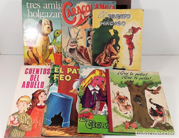LOTE DE 7 CUENTOS. VARIOS AUTORES. VARIAS EDITORIALES. 1944/1979. (Libros Nuevos - Literatura Infantil y Juvenil - Cuentos infantiles)