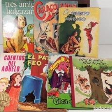 Libros: LOTE DE 7 CUENTOS. VARIOS AUTORES. VARIAS EDITORIALES. 1944/1979.. Lote 159983002