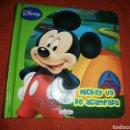 Libros: LIBRO MICKEY MOUSSE DE ACAMPADA DISNEY. Lote 160189857