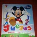 Libros: LIBRO JUEGOS CON MICKEY Y SU GRAN FAMILIA. Lote 160304556