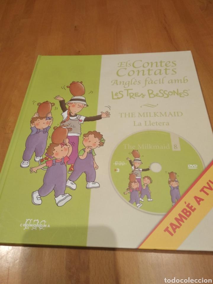 ELS CONTES CONTATS. ANGLÈS FÀCIL AMB LES TRES BESSONES. THE MILKMAID. LA LLETERA, AMB DVD (Libros Nuevos - Literatura Infantil y Juvenil - Cuentos infantiles)