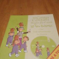 Libros: ELS CONTES CONTATS. ANGLÈS FÀCIL AMB LES TRES BESSONES. THE MILKMAID. LA LLETERA, AMB DVD. Lote 162086280