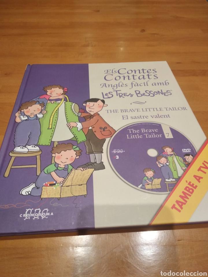 ELS CONTES CONTATS. ANGLÈS FÀCIL AMB LES TRES BESSONES. EL SASTRE VALENT. AMB DVD (Libros Nuevos - Literatura Infantil y Juvenil - Cuentos infantiles)