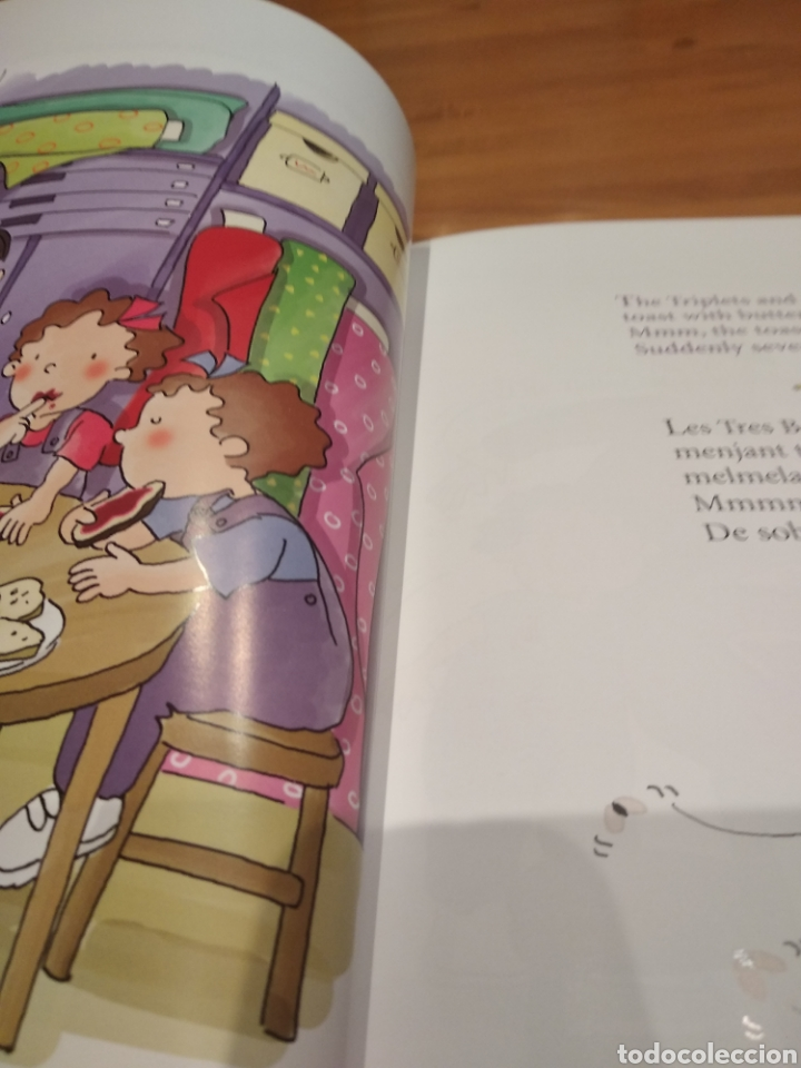 Libros: Els contes contats. Anglès fàcil amb les tres bessones. El sastre valent. Amb dvd - Foto 2 - 162090229