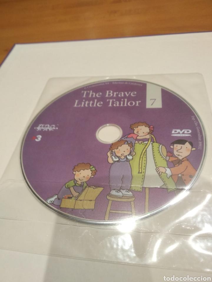 Libros: Els contes contats. Anglès fàcil amb les tres bessones. El sastre valent. Amb dvd - Foto 3 - 162090229