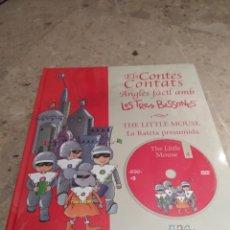 Libros: ELS CONTES CONTATS. ANGLÈS FÀCIL AMB LES TRES BESSONES. LA RATETA PRESUMIDA. Lote 162096310