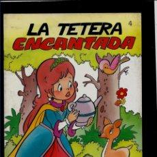 Libros: CUENTOS DE SIEMPRE - Nº 4 - LA TETERA ENCANTADA - EDICIONES GARA. Lote 165208270