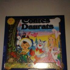 Libros: CONTES DAURATS - TODO LIBRO. Lote 166302312