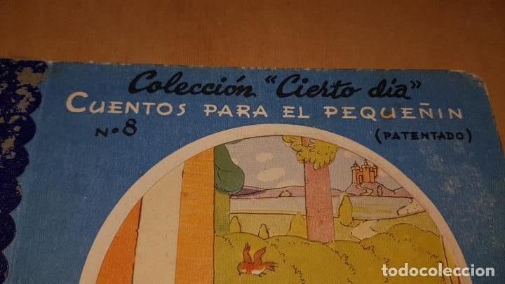 Libros: EL GATO CON BOTAS EDITORIAL ROMA COLECCION CIERTO DIA Nº8 CUENTOS PARA EL PEQUEÑIN - Foto 2 - 169280048