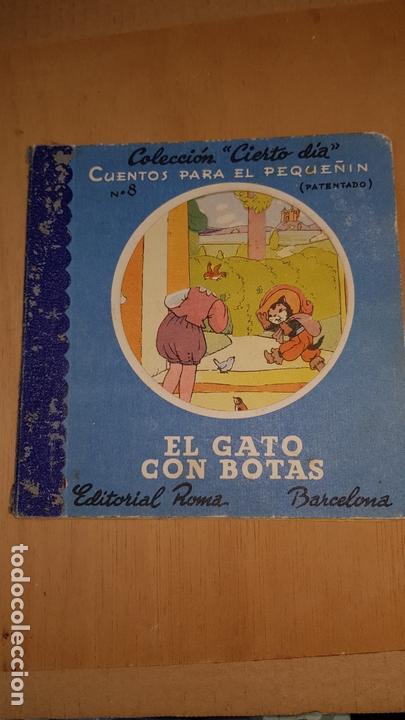 EL GATO CON BOTAS EDITORIAL ROMA COLECCION CIERTO DIA Nº8 CUENTOS PARA EL PEQUEÑIN (Libros Nuevos - Literatura Infantil y Juvenil - Cuentos infantiles)