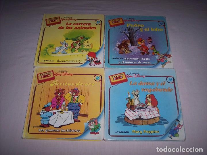 Libros: Walt Disney. Colección de libros y cintas de casete Disney - Foto 4 - 169625708