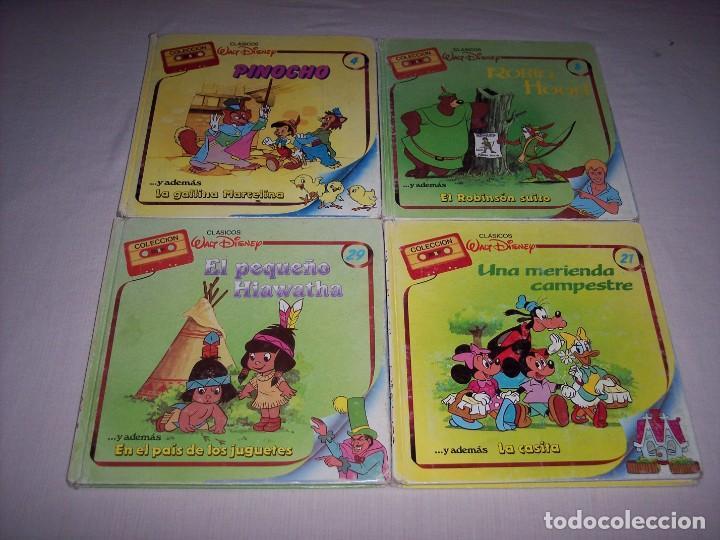 Libros: Walt Disney. Colección de libros y cintas de casete Disney - Foto 5 - 169625708