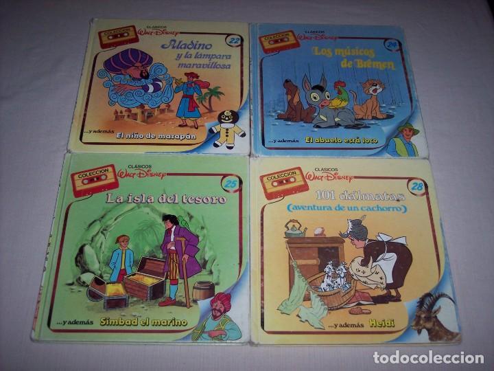 Libros: Walt Disney. Colección de libros y cintas de casete Disney - Foto 6 - 169625708