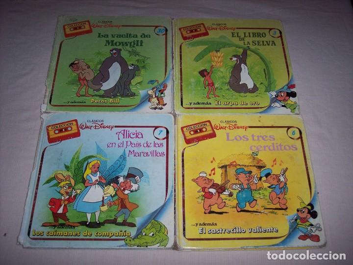 Libros: Walt Disney. Colección de libros y cintas de casete Disney - Foto 12 - 169625708