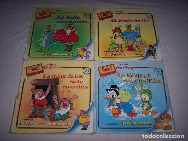 Libros: Walt Disney. Colección de libros y cintas de casete Disney - Foto 13 - 169625708
