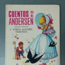 Libros: CUENTOS DE ANDERSEN. ILUSTRACIONES MARIA PASCUAL. ED. TORAY. 1974.. Lote 170451124