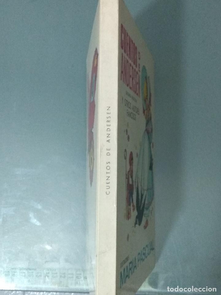 Libros: CUENTOS DE ANDERSEN. ILUSTRACIONES MARIA PASCUAL. Ed. Toray. 1974. - Foto 3 - 170451124