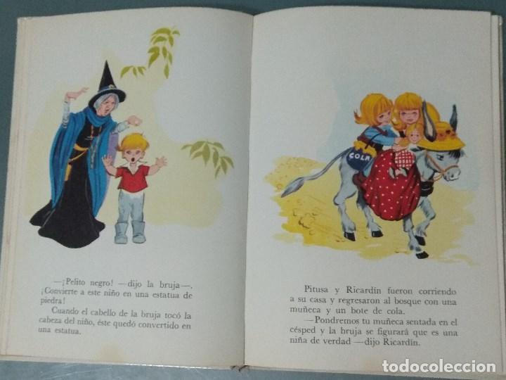 Libros: CUENTOS DE ANDERSEN. ILUSTRACIONES MARIA PASCUAL. Ed. Toray. 1974. - Foto 7 - 170451124