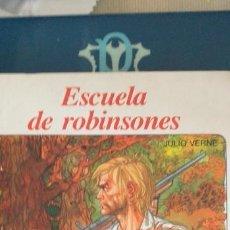 Libros: ESCUELA DE ROBINSONES-JULIO VERNE-NUEVO AURIGA-Nº 93. Lote 170857340