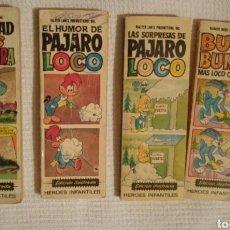 Libros: LOS PICAPIEDRA, EL PÁJARO LOCO, BUGS BUNNY. Lote 170886463