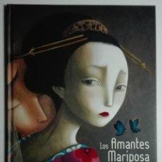 Libros: LOS AMANTES MARIPOSA. CUENTO DE BENJAMÍN LACOMBE PUBLICADO POR LUIS VIVES. Lote 171265763