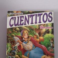 Libros: BLANCANIEVES. MIS PRIMEROS CUENTITOS. EDICIONES SALDAÑA. Lote 174030723