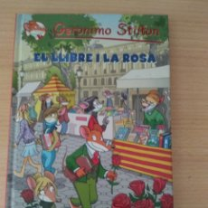 Libros: NUEVO. EL LLIBRE I LA ROSA. GERÓNIMO STILTON. Lote 175685684