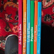 Libros: 6 CUENTOS CLÁSICOS , ILUSTRADOS. Lote 176185873