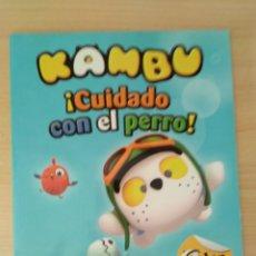 Libros: KAMBU. ¡CUIDADO CON EL PERRO! NUEVO. Lote 178776701
