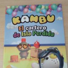 Libros: KAMBU EL CARTERO DE ISLA PÉRDIDA. NUEVO. Lote 178777565