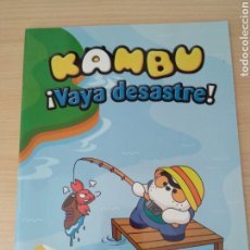 Libros: KAMBU ¡VAYA DESASTRE! NUEVO. Lote 178777907