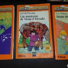 Libros: LOTE EL BARCO A VAPOR : TERROR EN WINNIPEG - LAS AVENTURAS DE VANIA - EL FORZUDO - EL MONSTRUO DE LA. Lote 180039027