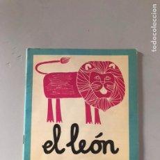 Libros: EL LEÓN. Lote 180876613
