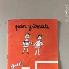 Libros: PAN Y TOMATE. Lote 180876701