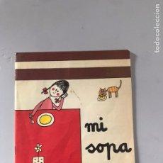 Libros: MI SOPA. Lote 180876830
