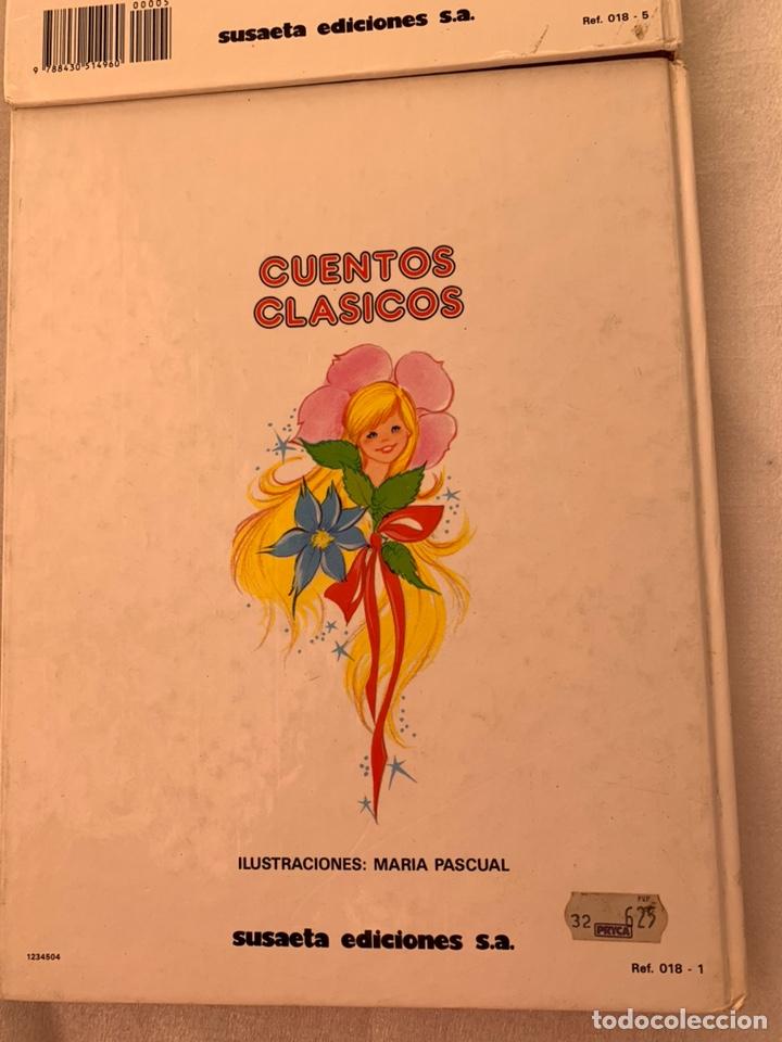 Libros: Dos cuentos de perrault y andersen ilustrado por María pascual cenicienta el gato con botas etc - Foto 4 - 182981490