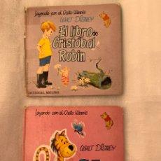 Libros: LOTE DE CUENTOS 1968 LEYENDO CON EL OSITO WINNIE WALT DISNEY. Lote 182984690