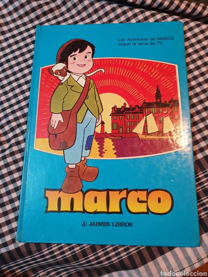 Libros: La aventura de marco según la serie de tv, Jaimes libros, 1977. 32,5 cm x 23 cm - Foto 7 - 183279367