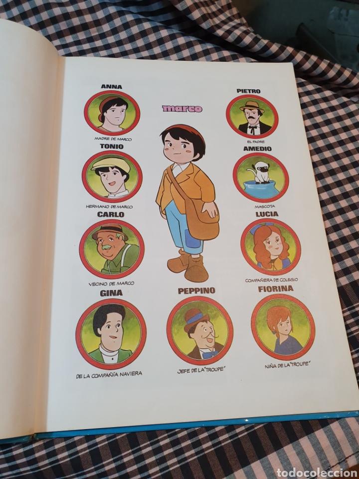 Libros: La aventura de marco según la serie de tv, Jaimes libros, 1977. 32,5 cm x 23 cm - Foto 9 - 183279367