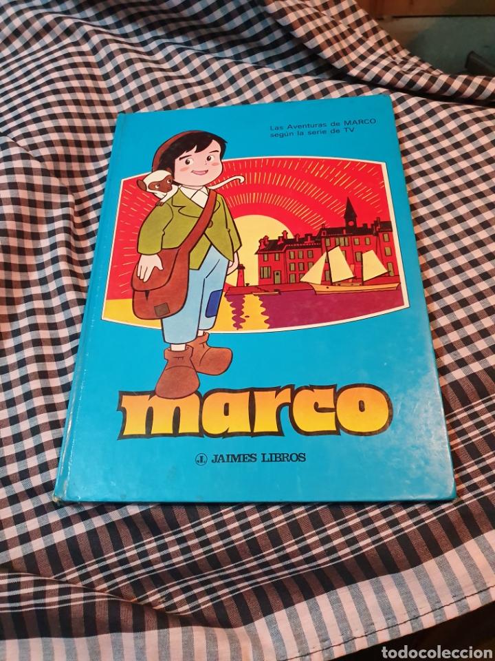LA AVENTURA DE MARCO SEGÚN LA SERIE DE TV, JAIMES LIBROS, 1977. 32,5 CM X 23 CM (Libros Nuevos - Literatura Infantil y Juvenil - Cuentos infantiles)