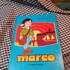 Libros: LA AVENTURA DE MARCO SEGÚN LA SERIE DE TV, JAIMES LIBROS, 1977. 32,5 CM X 23 CM. Lote 183279367