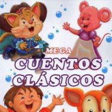 Libros: MEGA CUENTOS CLASICOS N. 2 - INCLUYE 6 CUENTOS CLASICOS (NUEVO). Lote 183315682