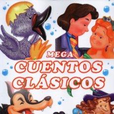 Libros: MEGA CUENTOS CLASICOS N. 1 - INCLUYE 6 CUENTOS CLASICOS (NUEVO). Lote 183315812